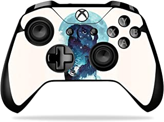 MightySkins Skin Compatible With Microsoft Xbox One X Controller - Midnight Owl | Protective, Durable, and Unique Vinyl De...