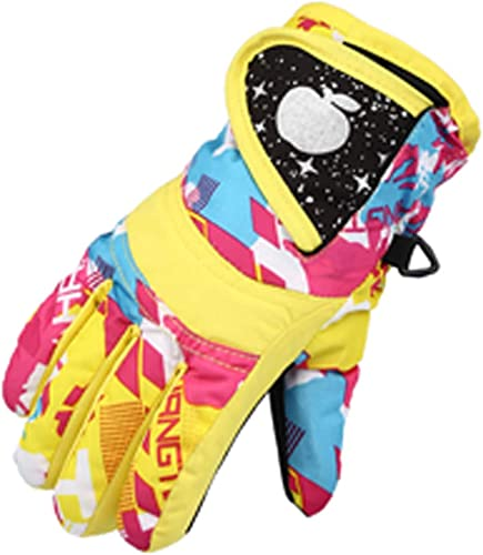 lowest OPTIMISTIC Kids Winter Gloves Snow Ski Gloves,Waterproof Cold Weather Youth online sale Warm Gloves for Skiing,Snowboarding, online Fits Boys and Girls 4-7Y sale