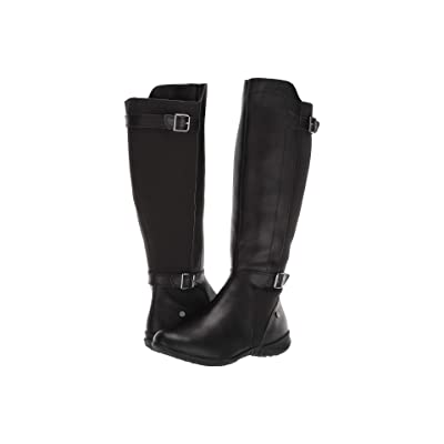 Hush Puppies Bria Tall Boot (Black PU) Women