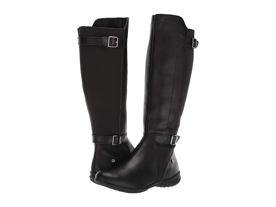Hush Puppies Bria Tall Boot (Black PU) Women