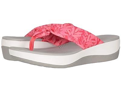 Clarks Arla Glison (Berry Pink Floral Textile) Women