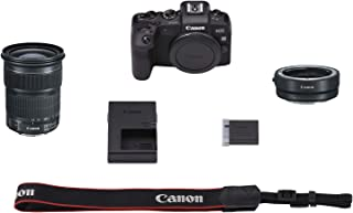 Canon EOS RP Mirrorless Digital Camera with 24-105mm STM Lens and Mount Adapter