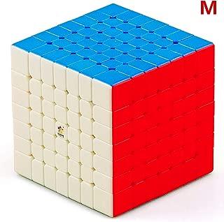 LiangCuber Yuxin Little Magic 7x7 M Speed Cube Yuxin 7x7x7 Magnetic 67.5mm Magic Cube Stickerless(Magnetic Version)