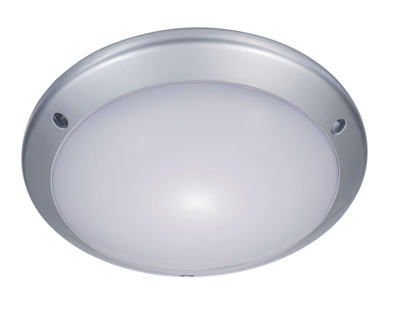 colore: Bianco Honsel 85993 Ass II Plafoniera in vetro satinato eco alogena a 3 punti luce E27 25 W /Ø 43 cm