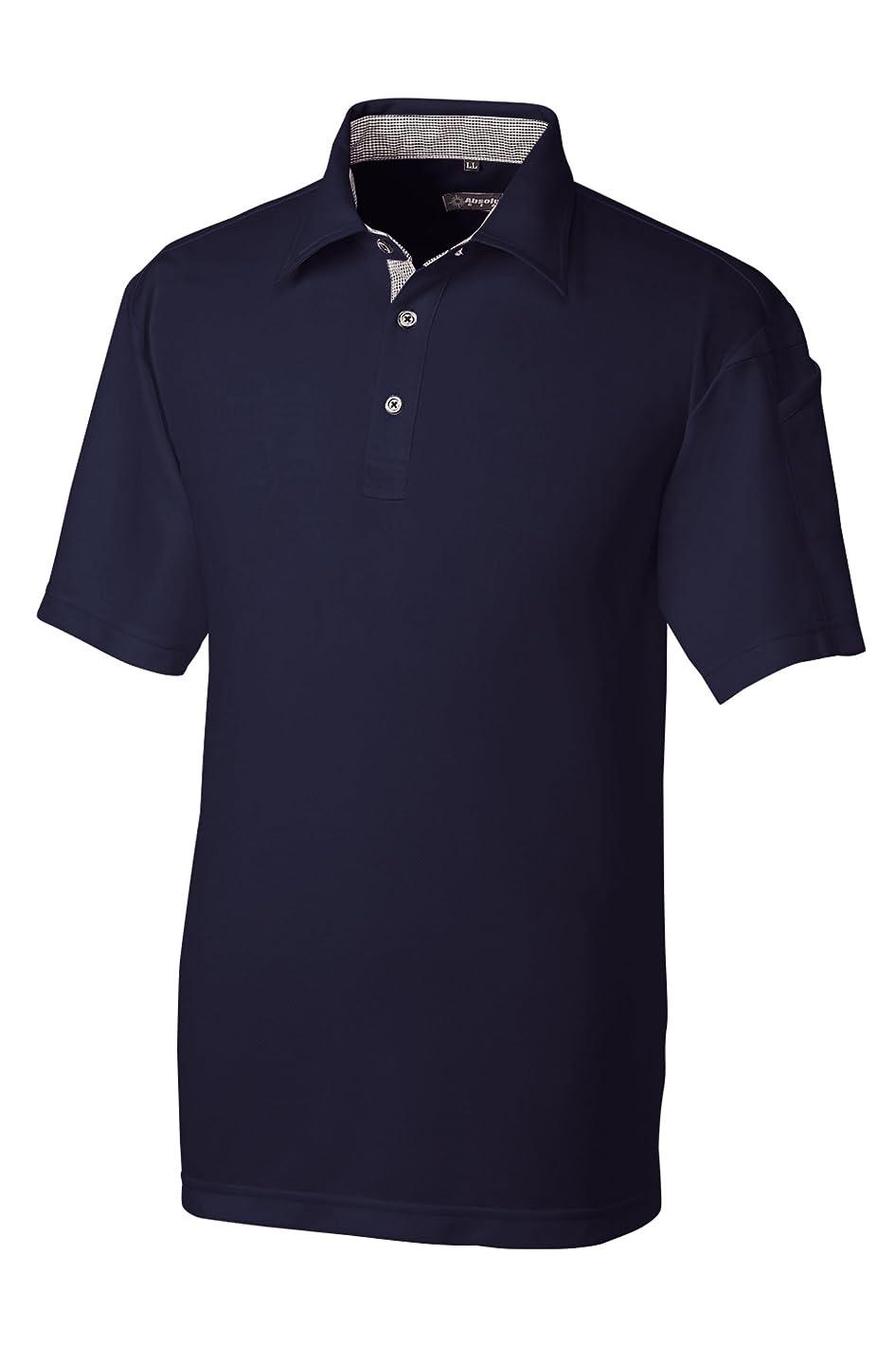 前件夜間資本主義SOWA(ソーワ) 半袖遮熱ポロシャツ ネイビー Lサイズ 50567