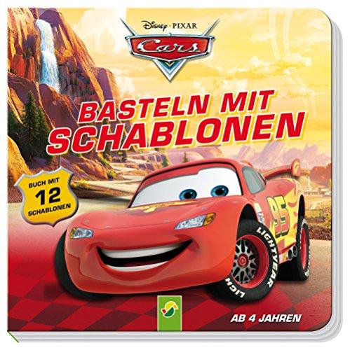 Cars Basteln mit Schablonen: Buch mit 12 Schablonen