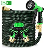 Best 75 Foot Garden Hoses - HBlife 75ft Garden Hose, All New 2020 Expandable Review