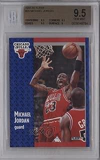 Michael Jordan BGS GRADED 9.5 (Basketball Card) 1991-92 Fleer - [Base] #29