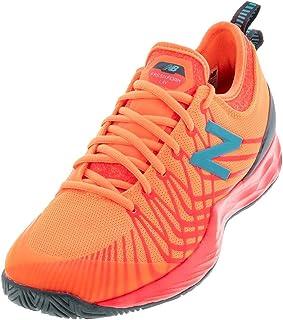 New Balance Men's Fresh Foam Lav V1 Hard Court Tennis Shoe, Citrus Punch/Vivid Coral, 7.5