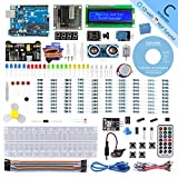 SunFounder R3 Project Complete Starter kit Compatible with Arduino IDE,25 Tutorials Included
