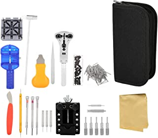 Cocoarm Watch Repair Tool Kit, 16Pcs Watch Repair Instruments, Watch Band Changing Case Opener Tool-Including Watch Back Case Holder Opener Link Remover Spring Bar and More