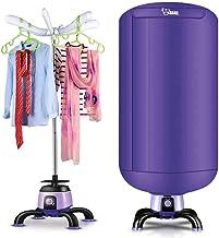 Heater Cuarto de baño Resistente al Agua Cuarto de baño Calentador de Sala, 2000 W Pared y móvil Estufa de Aire Caliente rápida de Doble Uso, Secadora Multiusos con tendedero Blanco