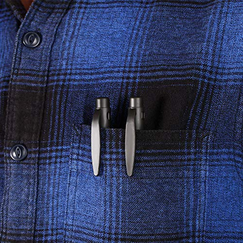 4 Pieces Pocket Screwdriver 4 in 1 Pen Screwdriver Multipurpose Portable Screwdriver Crossing Flathead Screwdriver for Repairing