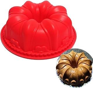 JasCherry Forma de Castillo Moldes de Silicone - Premium Antiadherente Moldes para Tartas, Repostería,