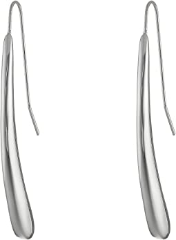 Robert Lee Morris - Teardrop Pull Through Linear Earrings