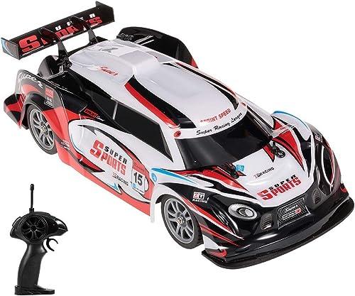 Wapipey 2,4 GHz 1 16 RC Auto 4WD High Speed  portwagen GTR fürzeug Racing Drifting Auto Modell Mit Drifting RC Reifen Rad Kinder Urlaub Geschenke