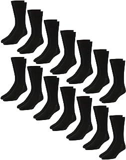 Men's Dress Socks - Lightweight Mid-Calf Crew Dress Socks...
