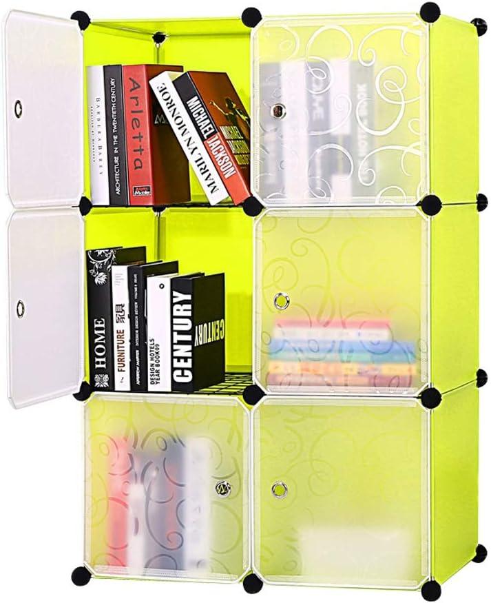 ZZF Bookshelf Simple Plastic Spasm Max 41% OFF price Childr Bookcase with Door