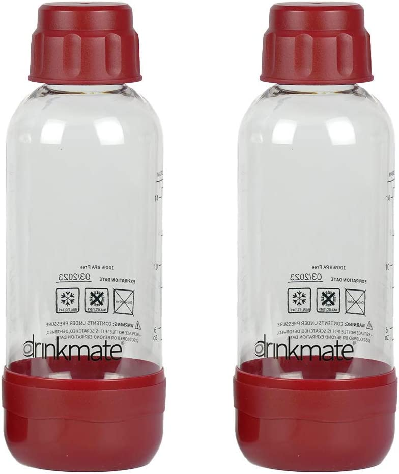 Ranking TOP4 Drinkmate Carbonation Bottles Minneapolis Mall 2 Red 0.5L Pack