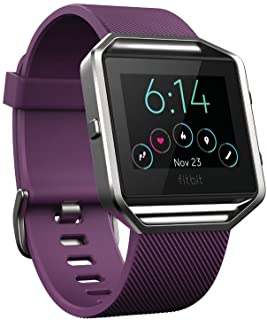 Fitbit Blaze Smart Fitness Watch, Plum, Small (5.5 –  6.7 inch) (US Version)