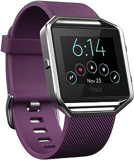 Fitbit Blaze Smart Fitness Watch, Plum, Small (5.5 -  6.7 inch) (US Version)