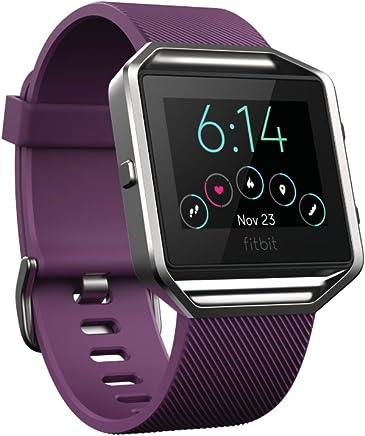 Fitbit Blaze Smart Fitness Watch, Plum, Small (5.5 -  6.7...