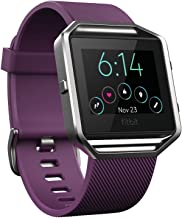 Fitbit Blaze Smart Fitness Watch, Plum, Small (5.5 -  6.7 inch) (US Version)
