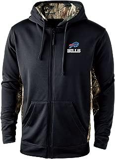 double hooded sweatshirt buffalo accent