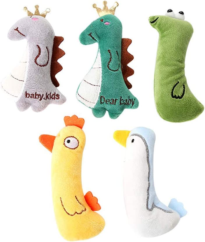 HyiFMY Direct stock discount Cute Cat Toys 5Pcs Max 49% OFF Che for Teething Cats Catnip