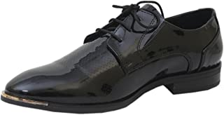 Athlego Leather Formal Shoes for Men with Laces