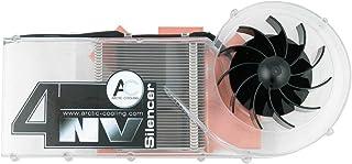 ARCTIC NV Silencer 4 Rev.2 Graphics Card Enfriador - Ventilador de PC (Graphics Card, Enfriador, 7,2 cm, 0,9 dB, NVIDIA FX5900-5950, Black, Transparente)