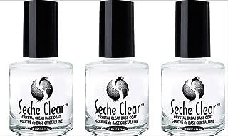 (3 Pack) SECHE Crystal Clear Base Coat