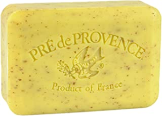 Pre' De Provence Artisanal French Soap Bar Enriched With Shea Butter, Lemongrass, 250 Gram