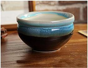 CHENTAOCS Flower Pot, Large Caliber Fleshy Ceramic Pot Pot Modern Style, Seeder Pot, Milky White 13 * 7.5cm (Color : D, Size : 13 * 7.5cm)