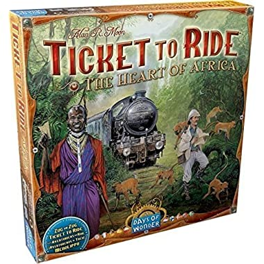 Days of Wonder Ticket to Ride: Map Collection Volume 3 - The Heart of Africa