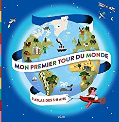 tour du monde atlas livre pour enfant