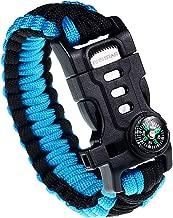 Best paracord survival bracelet fire starter Reviews