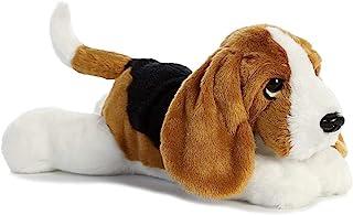 """Aurora World Flopsie Toy Basset Hound Plush, 12"""""""