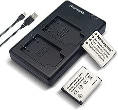 Newmowa Li-42B Battery (2 Pack) and Dual USB Charger Kit for Olympus Li-42B/Li-40B,Fujifilm NP-45S and Olympus Stylus 1040 1050W 1060 1070 1200 7000 7010 7020 7030 7040 Tough 3000 TG-310 TG-320 VR310