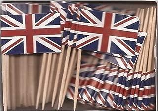 UK | British Flag Toothpicks (100)