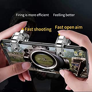 Metal PUBG Mobile Gamepad Gaming Trigger Shooter Game Controller for Smart Phone Mobile Fire Button Aim Key Joystick
