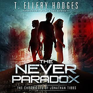 The Never Paradox audiobook cover art