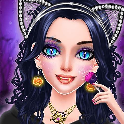 Halloween Makeup Salon : Dressup Games For Girls