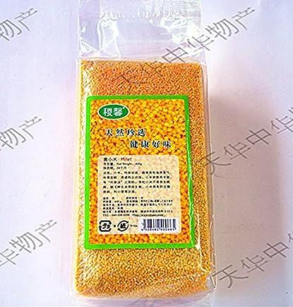 中国特選農作物穀物天然黄小米(アワ?粟)緑色食品?健康栄養食材?中華粗糧?人気商品  400g