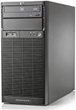 HP Proliant ML110 G6 Tower - Intel Xeon 4Core Processor X3430, 8GB DDR3 Reg, 2X 500GB SATA 3,5 pulgadas, Raid Controller. Sin Sistema operativo. (Reacondicionado)