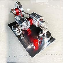 Mini Aire Caliente Stirling Modelo De Generador De Motor con Luz Indicadora De LED, La Máquina De Vapor De Combustión Externa, Regalo De Cumpleaños Entusiasta, Tallo De Juguetes Educativos