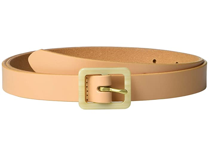 Madewell  Acetate Buckle Belt (Natural Buff) Womens Belts