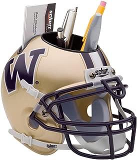 Schutt NCAA Washington Huskies Football Helmet Desk Caddy