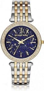 ساعة كوارتز للنساء من مايكل كورس، شاشة انالوج وسوار من الستانلس ستيل MK3401