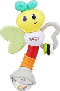 Infantino Love Bug Rattle & Teether|Baby Teething & Rattling Toy|